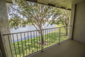 Private balconies and patios | Gateway Club