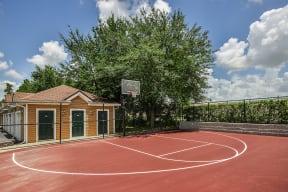 Basketball court  | Grandeville on Saxon