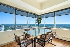 Penthouse dining room | Hartford 21