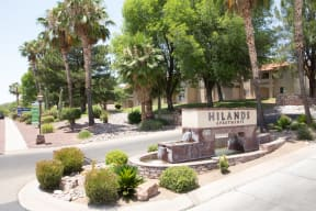 Welcoming community signage | Hilands