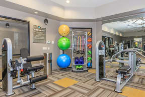 Fitness center | Canyons at Linda Vista Trail