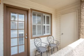 Private balcony  | Promontory