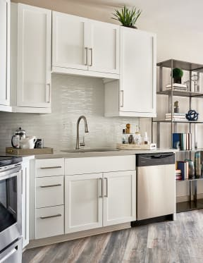 Kitchen with sleek finishes   Inspire Southpark