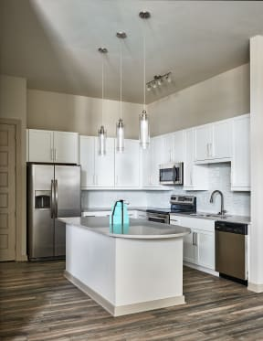 Kitchen with granite countertops   Inspire Southpark
