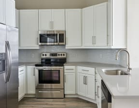Kitchen with stainless steel appliances   Inspire Southpark