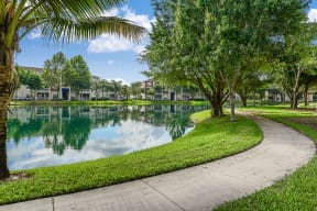 Lakeside walking path | Yacht Club