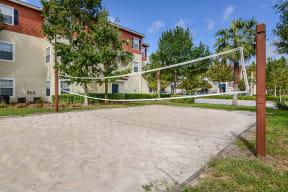 Sand volleyball court | Yacht Club