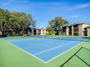Tennis courts  | Lakes at Suntree