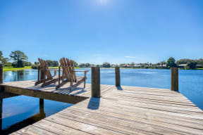 Relax with shimmering lake views  | Lakes at Suntree