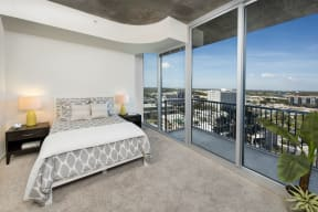 Bedroom with balcony access | Element