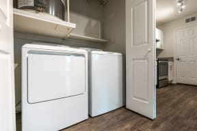 In-home washer and dryer | Monterey Ranch