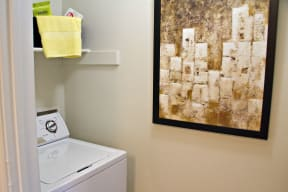 In home washer and dryer | Monterey Ranch