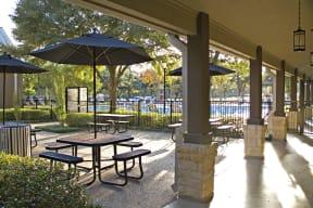 Outdoor patio | Monterey Ranch