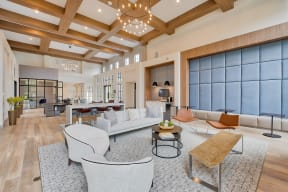 Clubhouse lounge | Monterey Ranch