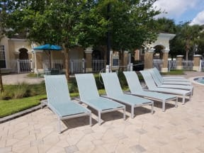 Lounge in the sunshine on the patio  | Grandeville on Saxon