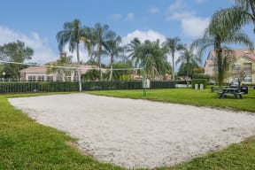 Sand volleyball court | Royal St. George