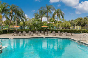Pool with lounge chairs | Royal St. George