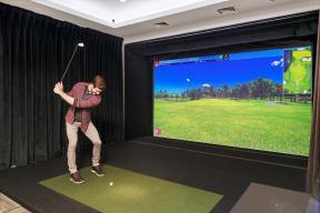 Golf simulator   Inspire Southpark