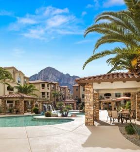 Poolside Cabana With Bbq  Villas at San Dorado