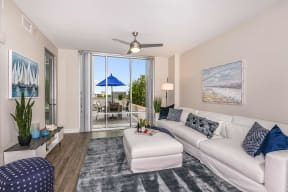 Living room   Paramount on Lake Eola