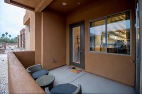 Private patio | Pima Canyon