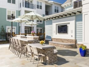 Poolside TV Lounge & Grilling Station |Wharf 7