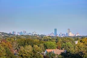 Enjoy views of the Boston skyline | The Merc at Moody and Main
