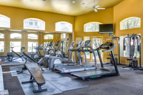 Fitness center | The Links at High Resort