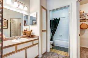 Bathroom | The Links at High Resort