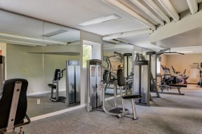 Fitness Center With Modern Equipment| The Boulders