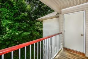 Balcony |Residences at Westborough