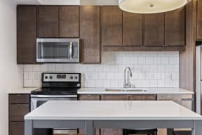 Stainless Steel Appliances At Revel Apartments In Minneapolis, MN