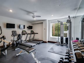 Fitness Center At Boutique 28 Apartments In Minneapolis, MN