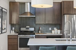 Modern Kitchens At Revel Apartments In Minneapolis, MN