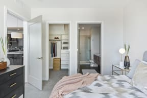 Walk-In Closets In Bedrooms At Revel Apartments In Minneapolis, MN