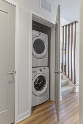 In-Unit Washer & Dryer Set At Revel Apartments In Minneapolis, MN
