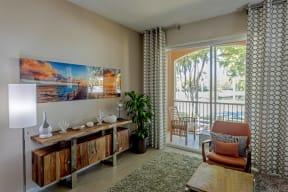Polo Lakes Model Living Room