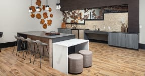 SouthLawn Lawrenceville Clubroom Demonstration Kitchen
