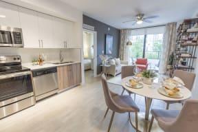 Kitchen & Dining   Twenty2 West   Luxurious Apartments in Miami, FL