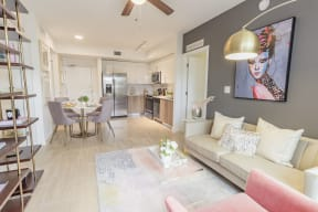 Living Area   Twenty2 West   Luxurious Apartments in Miami, FL