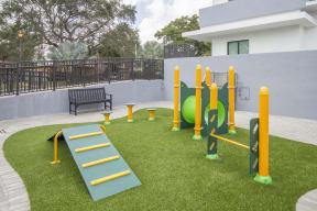 Dog Park   Twenty2 West   Luxurious Apartments in Miami, FL