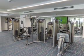 Weight Room   Twenty2 West   Luxurious Apartments in Miami, FL
