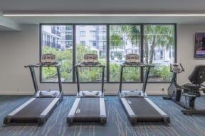 Treadmills   Twenty2 West   Luxurious Apartments in Miami, FL