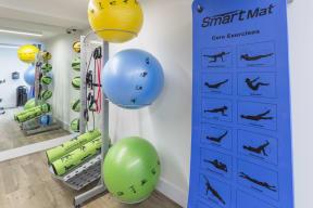 Fitness Area   Twenty2 West   Luxurious Apartments in Miami, FL