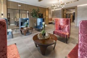 Lobby Area   Twenty2 West   Luxurious Apartments in Miami, FL