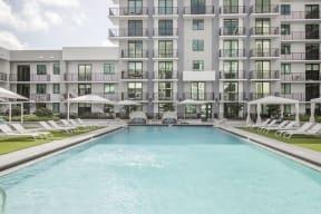 Pool   Twenty2 West   Luxurious Apartments in Miami, FL