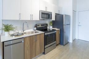 Kitchen   Twenty2 West   Luxurious Apartments in Miami, FL