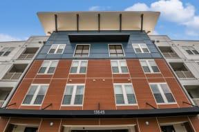 Exterior view of Coda Orlando apartments for rent in Orlando, FL
