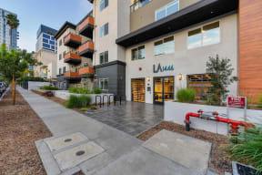 La1446 building entrance