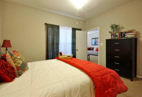 Classic Bedroom at Stoneleigh on Cartwright Apartments, J Street Property Services, Texas, 75180